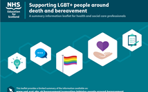 New resource: Supporting LGBT+ people around bereavement